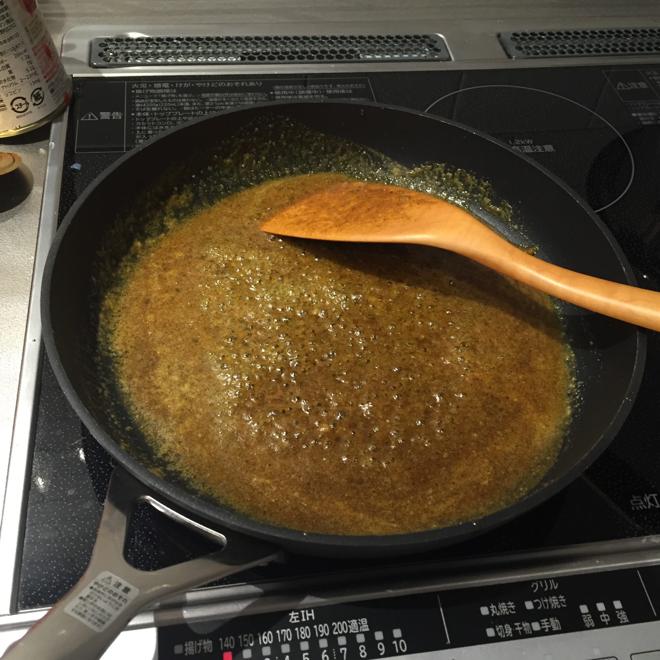 バターに混ぜた